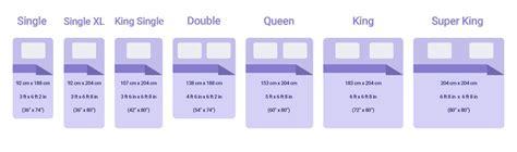 all bed sizes australian mattress size guide relax bedding