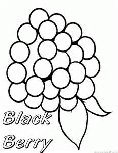 Galerry coloring pages for fruit