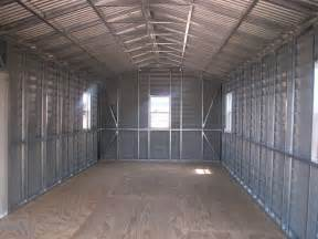 us prefabricated gable steel shed car storage sheds