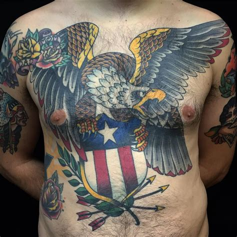 eagle back tattoo designs 100 best eagle designs meanings spread your