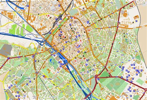 on map city maps reims