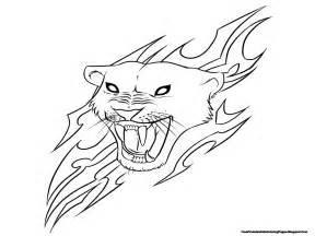jaguar coloring pages jaguar with flare coloring pages printable free