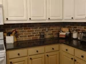 Veneer Kitchen Backsplash by Brick Veneer Backsplash Braen The Two
