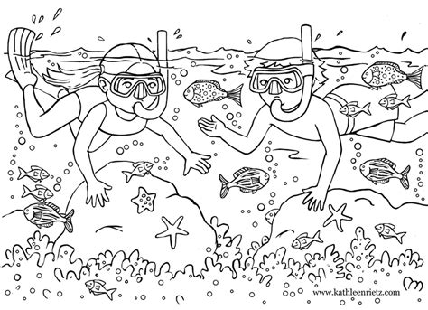 free summer coloring pages rietz illustration and design summer