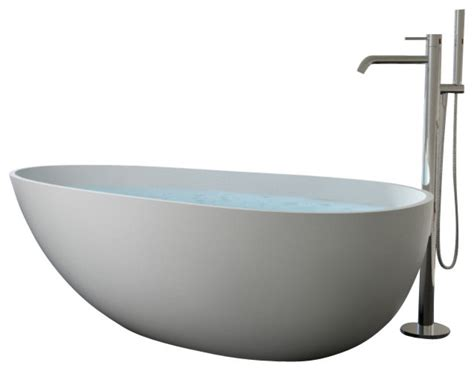curved freestanding bath tub 75 x 39 adm bathroom design badeloft badeloft upc certified stone resin