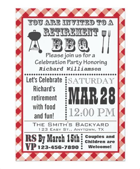 100 template for retirement party invitation 4