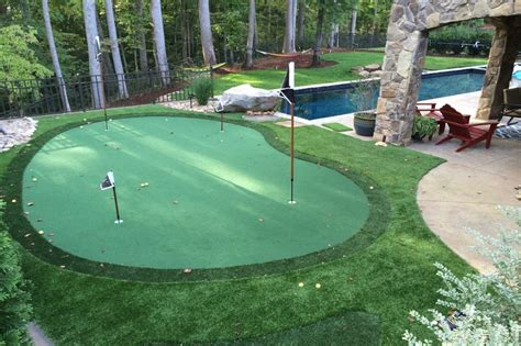 backyard putt putt backyard putting greens north carolina carolina outdoor