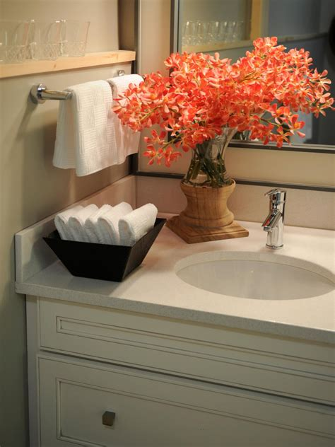 bathroom sink decorating ideas hgtv home 2011 guest bathroom pictures and