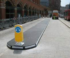 rubber st station traffic island manufacturers external works
