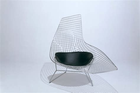 bertoia chaise bertoia asymmetric chaise by knoll stylepark