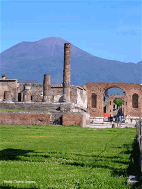 Inside Of Houses by Pompeii Ruins