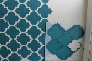wall paint patterns making a big impact in a small space with wall stenciling