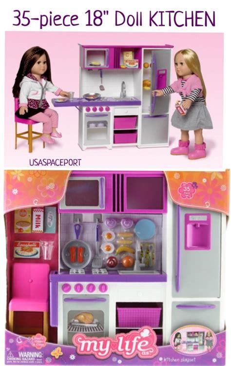 35pc doll kitchen refrigerator accessories playset 18