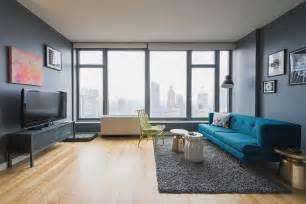 dashing nyc studio apartment gets two glamorous makeovers