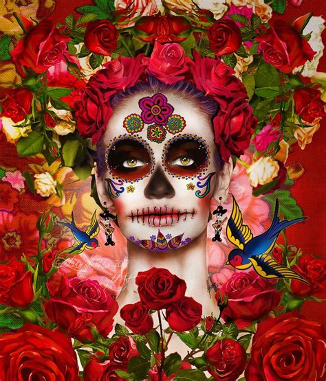 la catrina dia de muertos la catrina by capricuario deviantart com day of the dead