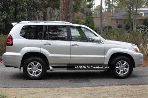 2005 Lexus Gx470 by 2005 Lexus Gx470 Base Sport Utility 4 Door 4 7l