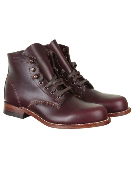 wolverine 1000 mile boot wolverine 1000 mile boot cordovan no 8 wolverine from