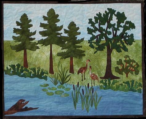 design your own landscape quilts by karen turckes