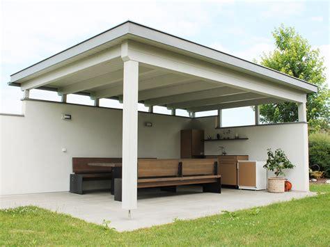 flachdach pavillon aluminium terrassen 252 berdachung flachdach die neueste innovation