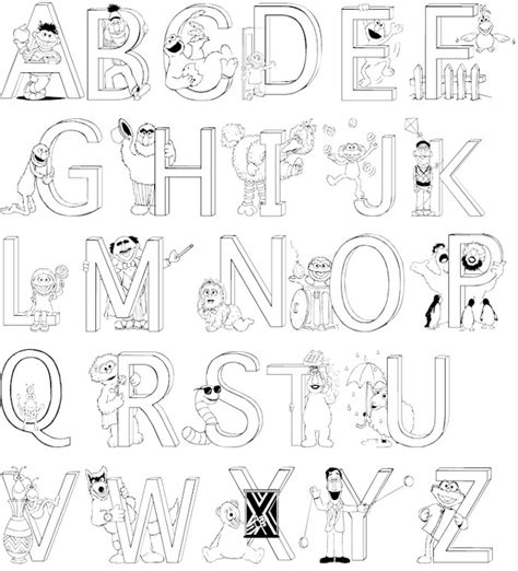 s simple alphabet coloring book black white a z coloring book s simple coloring book volume 1 books a z alphabet coloring pages and print for free