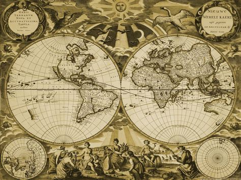old world map wall paper decor pinterest vintage map wallpapers wallpaper cave
