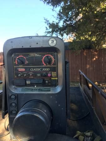 lincoln 300d welder lincoln welder 300d espotted