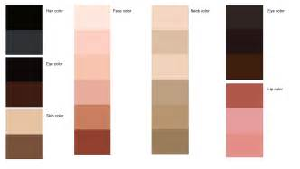 skin colors dressing my learn your hair skin eye colors