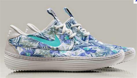 nike hawaiian print shoes shoes solarsoft hawaiian print sneakers nike nike