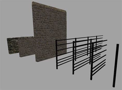 stone wall and fence pack ls15 mod download