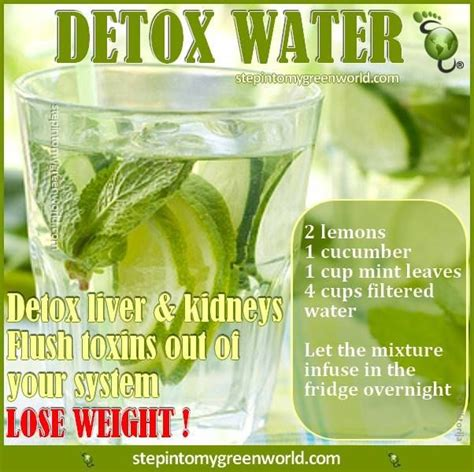Detox Liver And Kidneys Fast by This Detox Water Is Of Fresh Yet Potent Ingredients
