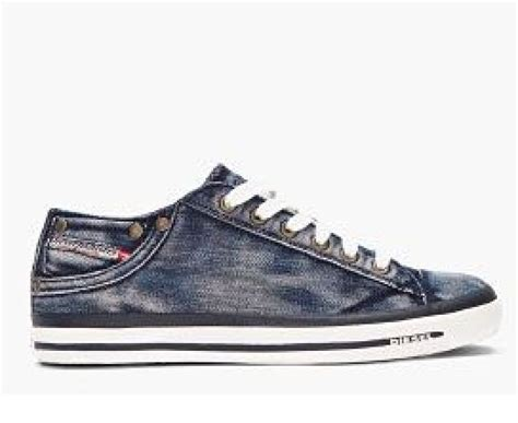 Sneakers Denim diesel denim washed sneaker s shoes