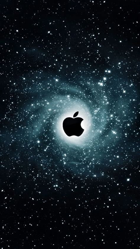 apple wallpaper with stars iphone 5s wallpaper