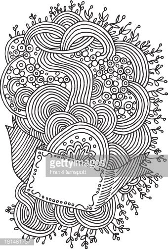 how to draw doodle lines line doodle swirls pattern drawing vector getty