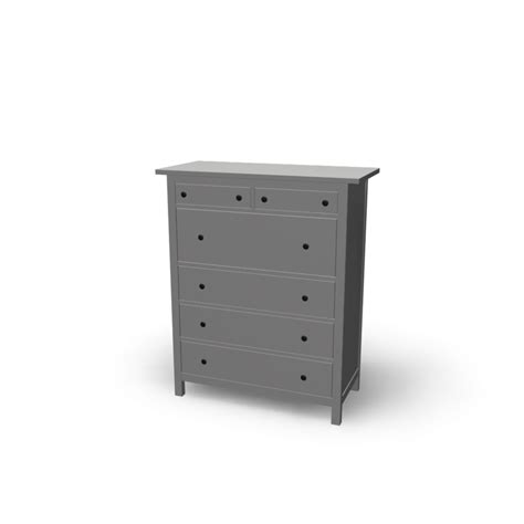 Dresser Hemnes 6 Drawer by Hemnes 6 Drawer Chest Design And Decorate Your Room In 3d