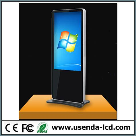 Monitor Lcd Vertical 42 quot vertical touch screen tft lcd tv advertising advertising media vertical advertisement