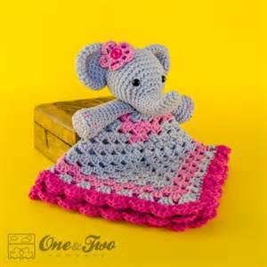 Monkey Rug Elephant Security Blanket Crochet Pattern