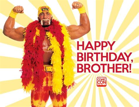 printable birthday cards wrestling birthday card printable hulk hogan birthday card happy