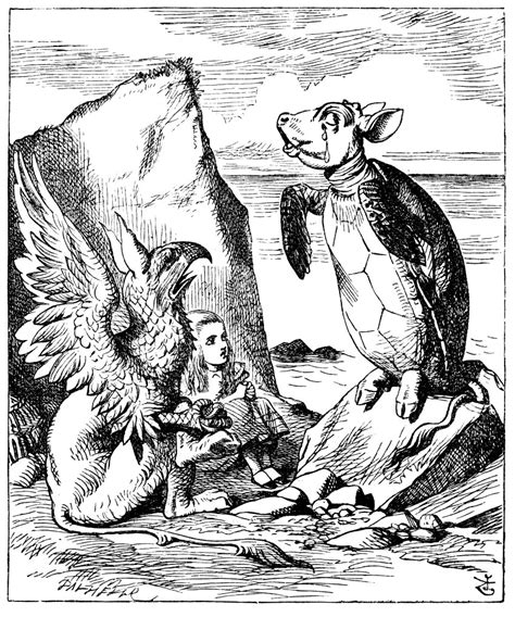 the encounter with mock turtle in lewis carroll s alice in wonderland literature uncovered
