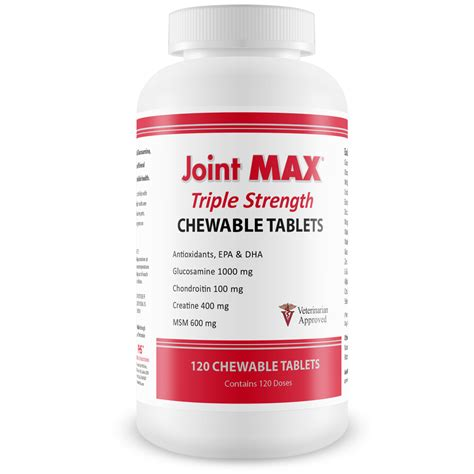 Suplemen Joint Max joint max 174 strength 120 chewable tablets