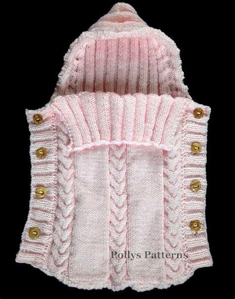 baby sleeping bag knitting pattern uk pdf knitting pattern baby sleeping bag cocoon sleep sack