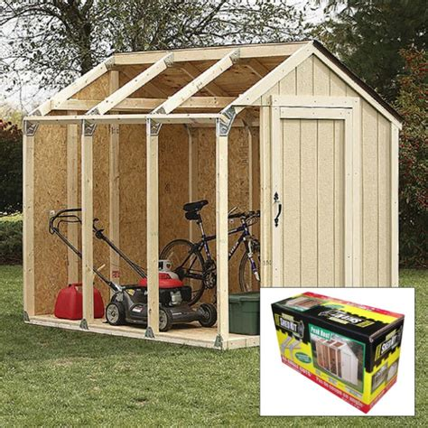 Diy Shed Kits by 2x4 Basics Diy Shed Kit Peak Roof Style Kennesaw Cutlery