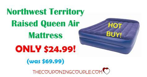 northwest territory raised air mattress only 24 99 was 69 99