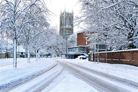 weather in lincoln uk in pictures snowy across lincolnshire
