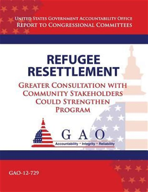 refugee resettlement government accountability office u