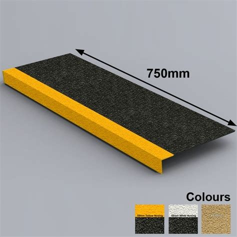 stair tread covers anti slip grp stair tread covers 750mm