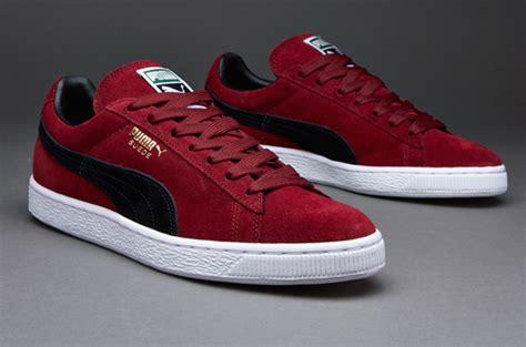 Harga Classic Suede sepatu sneakers suede classic pomegranate black