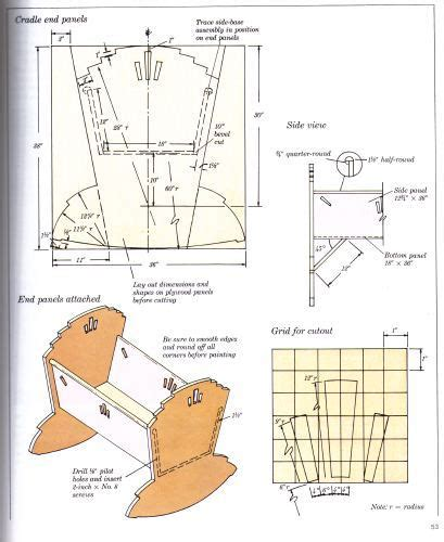 woodworking patterns  baby cribs woodwork sample