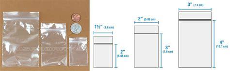 1 5x2 2x3 3x4 inches zip lock reclosable bag assorted