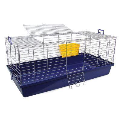 Rabbit Cage Hutch Skyline Maxi Xxl Cage Pour Lapin Et Cochon D Inde Zooplus