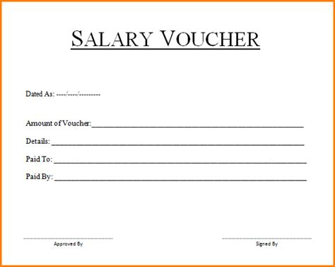 salary slip format word doc best of 6 blank payslip template